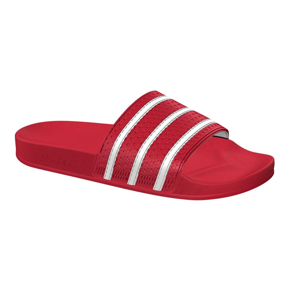 Adidas Adilette slippers rood/wit