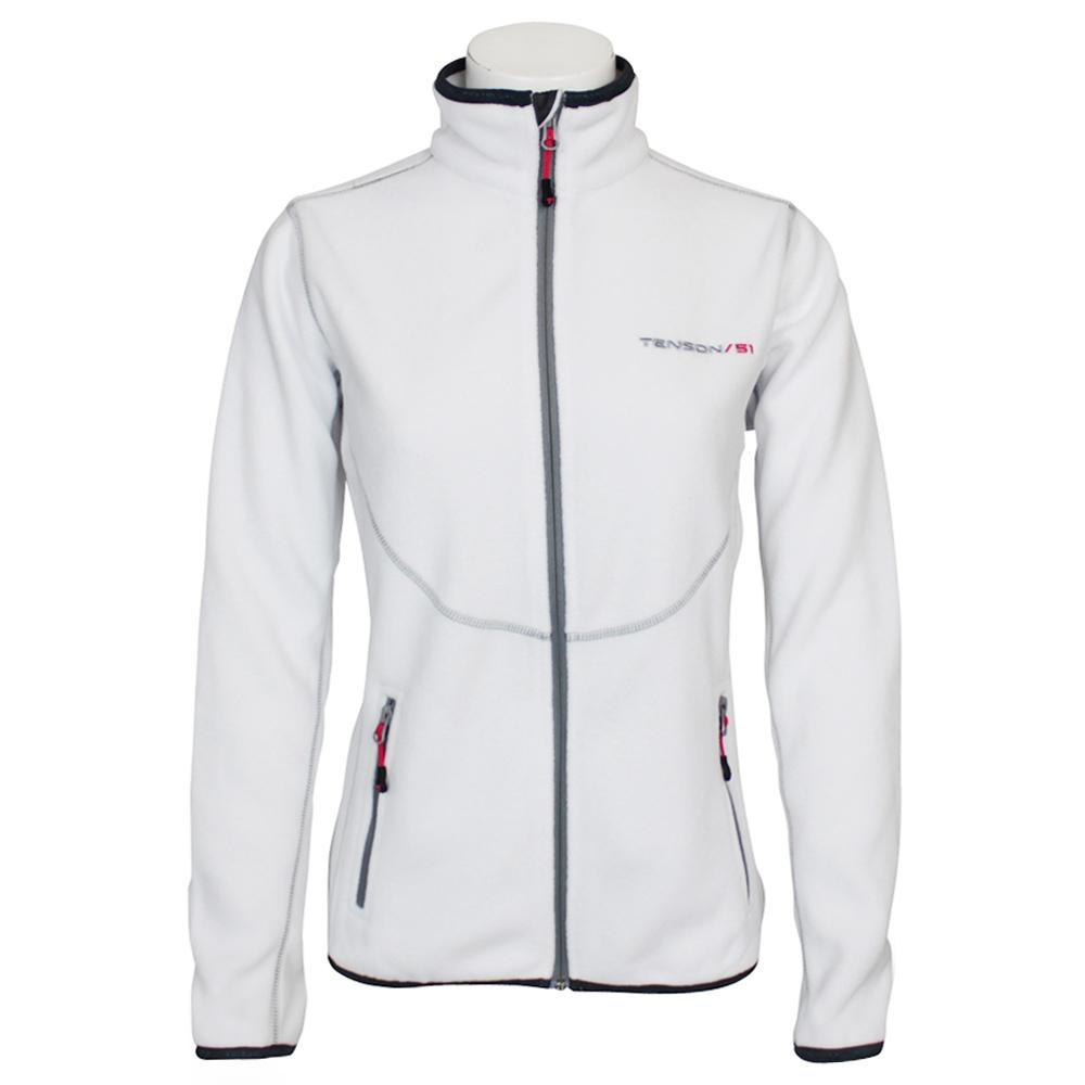 Tenson Malin fleece vest dames wit