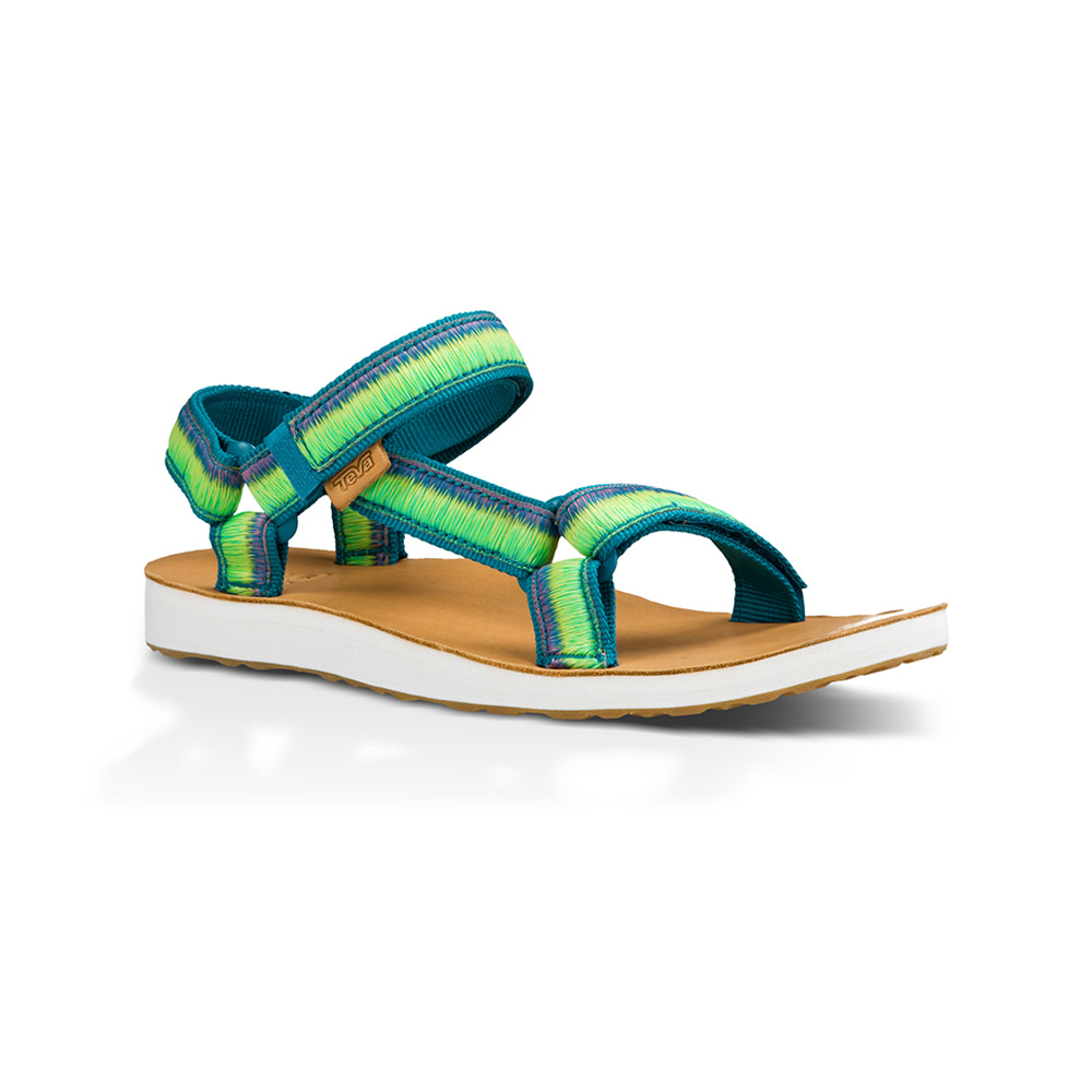 best loved dc804 40a46 Teva Original Universal Ombre sandalen dames beige/blauw/groen